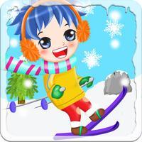 Ski Fall - free ski jump game