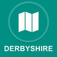 Derbyshire, UK : Offline GPS Navigation