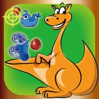 Neverfull Pouch : endless shooting of colorful apples and birds - free casual games for kids by top fun