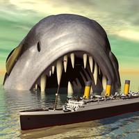 4D انتقام: حربية سمك كبير ضد قوات بحرية تحت الماء