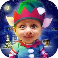 Elf Photo Booth – Christmas Camera Pic Stickers