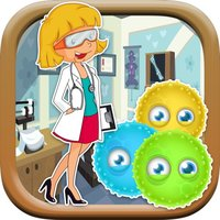 A Doctor Germs and Virus wipeout Game