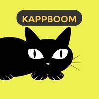 Sweet Black Cat Sticker