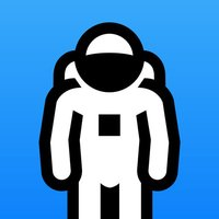 Animated Astronaut Stickers