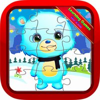 Baby Bear Jigsaw Puzzles Games for Preschool Kids