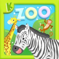 Toddler Preschool Zoo Animals Shape Jigsaw Puzzles
