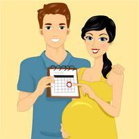 快乐十月孕期 - 十月怀胎 1-40周胎儿发育过程知识手册