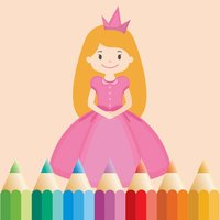Princess Coloring Book for Girls: Learn to color