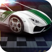 Race Police Car: Shoot Speed