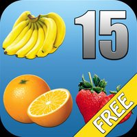 Fruit Fifteens Free - cult puzzle game with fruits
