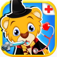 Teeth Dentist & Doctor Salon - Cute Baby Pet Vet Foot Care & Surgery Games for Kids and Girls