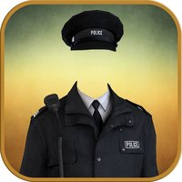 Police Suit Photo Montage - Police Dress Up