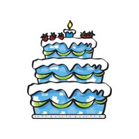 Happy Birthday stickers by wenpei