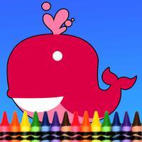 Sea Animal Coloring Book - Drawing Painting Kids Games